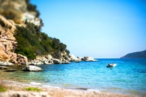 plage canetto-tiltshift