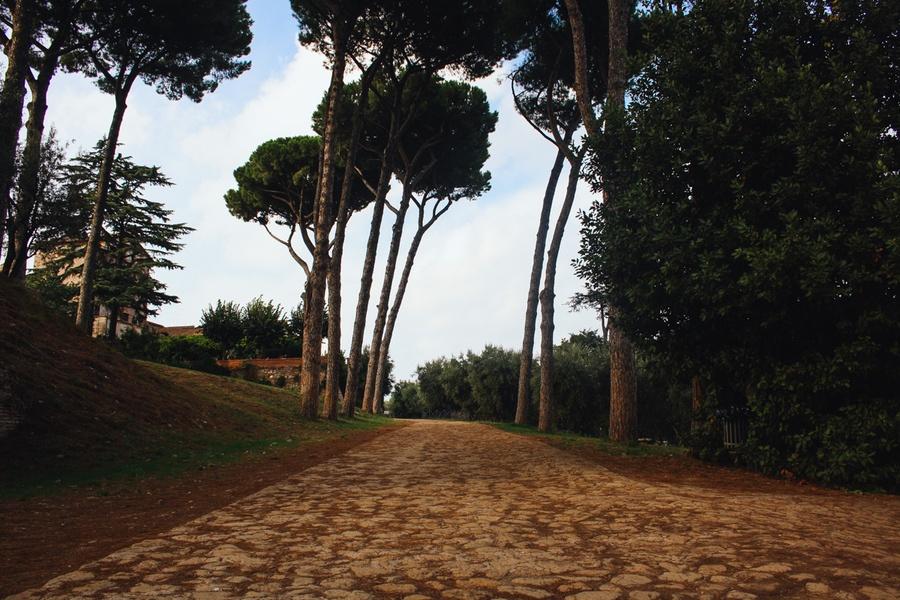 Les collines du Palatin à Rome
