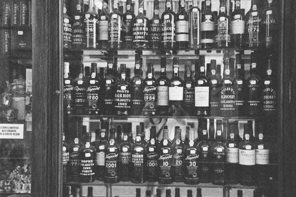 Les bouteilles de Porto