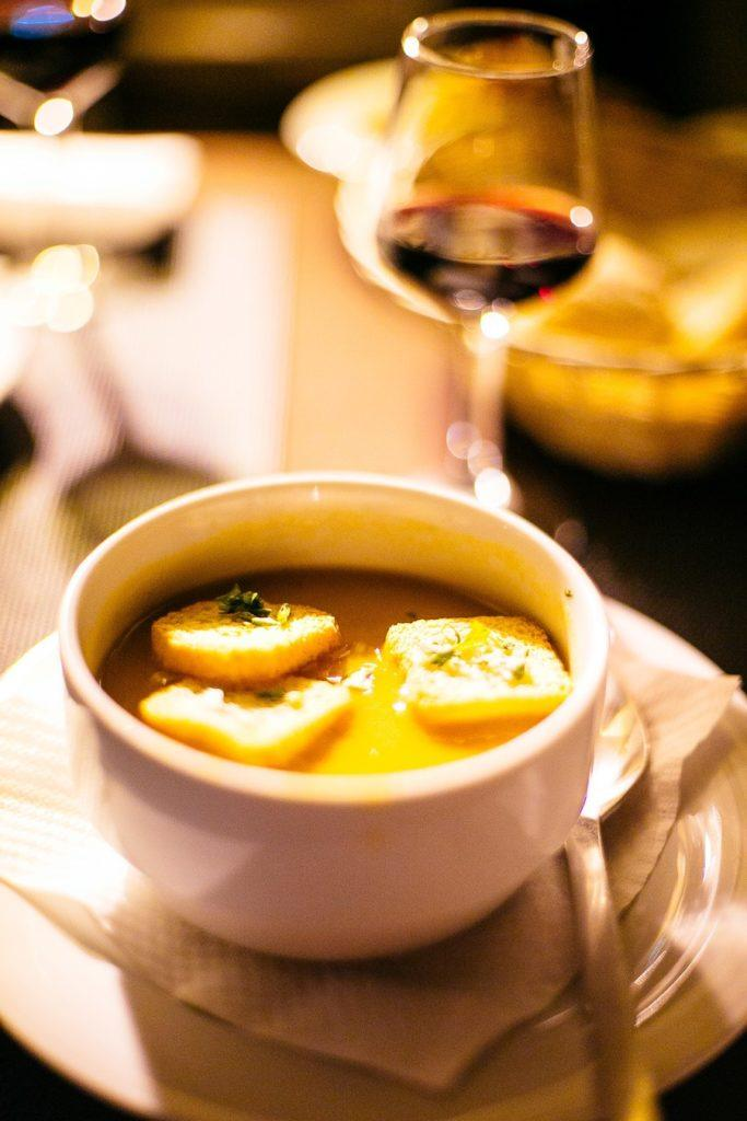 Soupe de fruits de mer, spécialité du Portugal