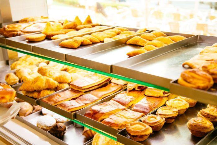 Sandwichs et pâtisseries du Portugal