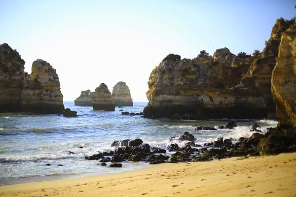 Lagos plage Algarve et océan