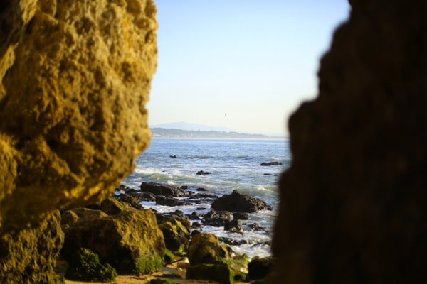 Vue plage Algarve