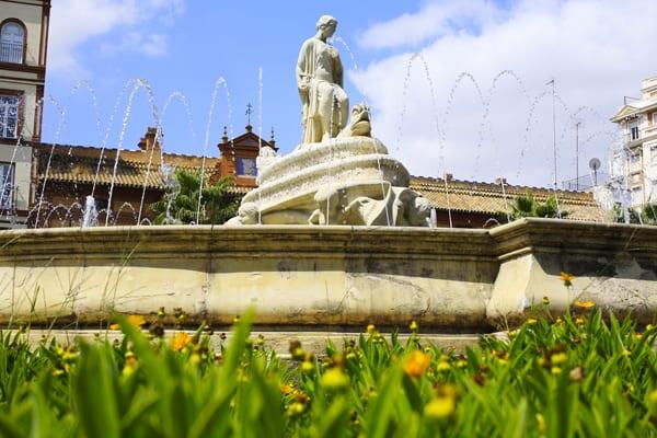 Une fontaine de Séville