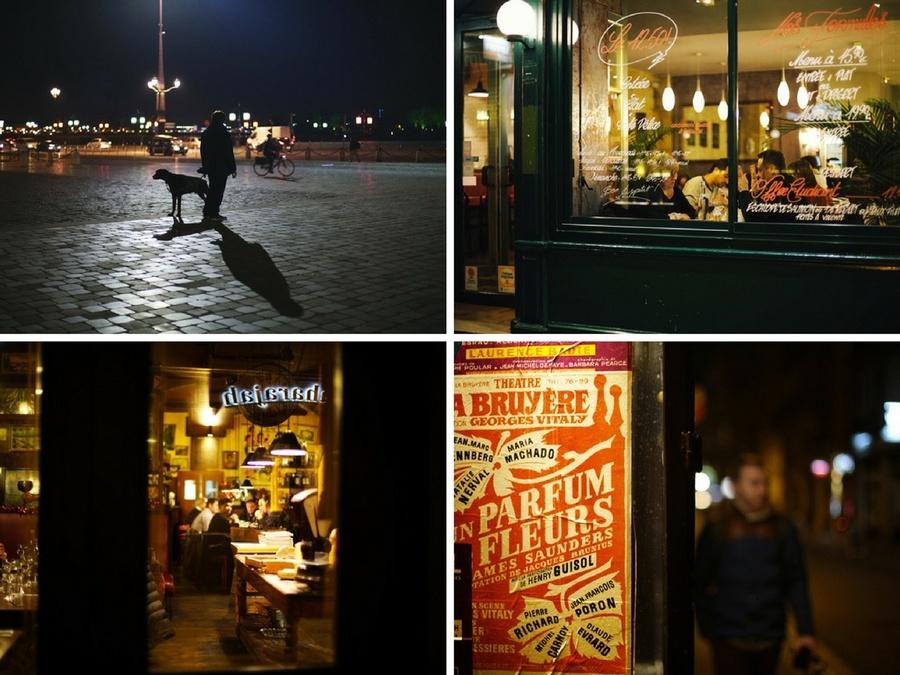 Les restaurants de Bordeaux la nuit
