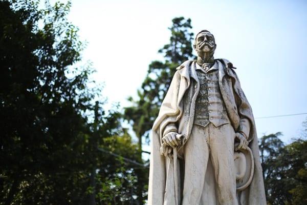 Statue portugaise à Porto