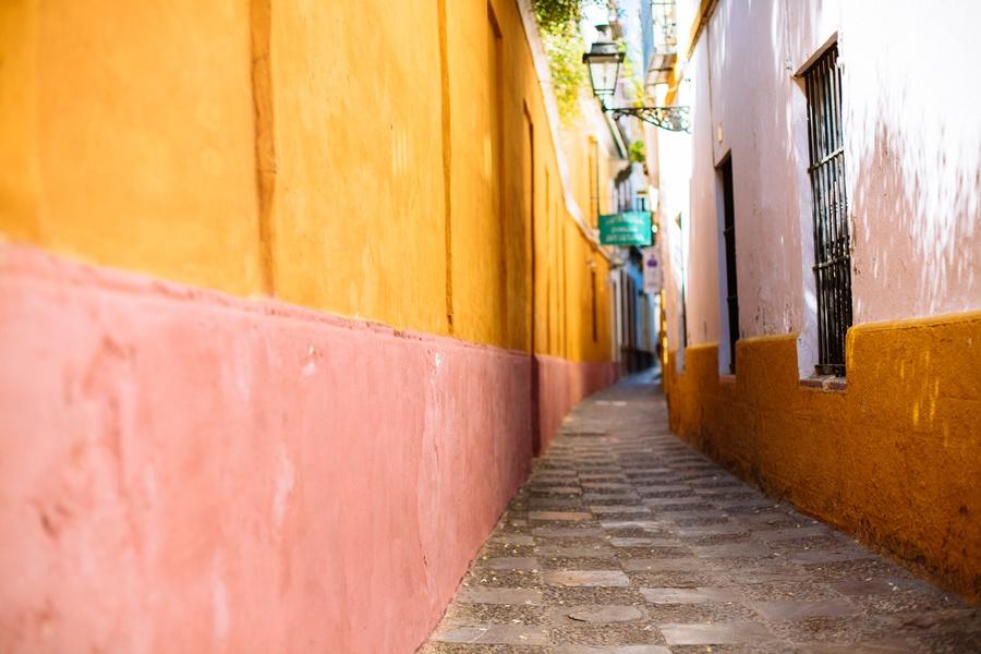Les ruelles colorées de Séville