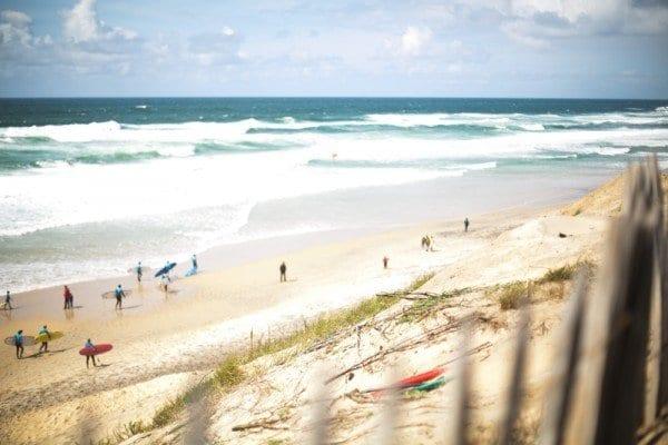 biscarrosse plage surf