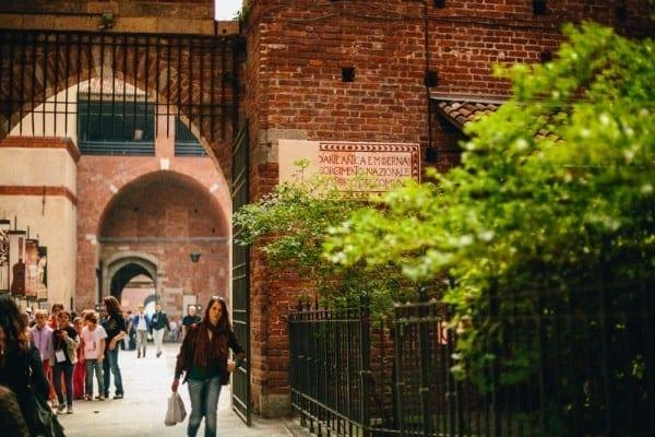 Castello Sforzesco porte
