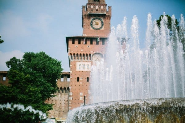Castello Sforzesco tour