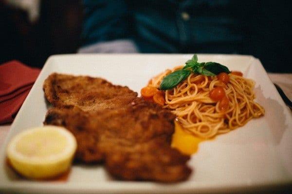 L'escalope milanaise, spécialité d'Italie !