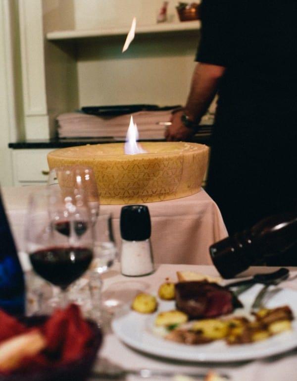 Le Tournedos parmesan