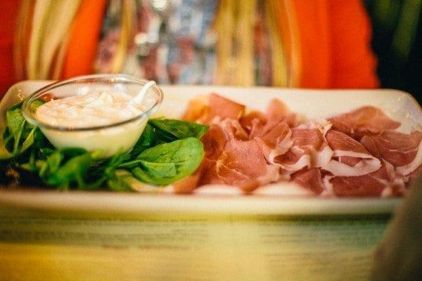 Obika restaurant mozzarella