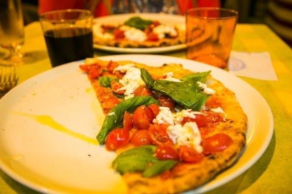 Pizza Am Milan, spécialité italienne