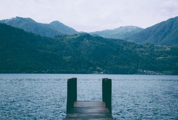 Ponton Lac Orta