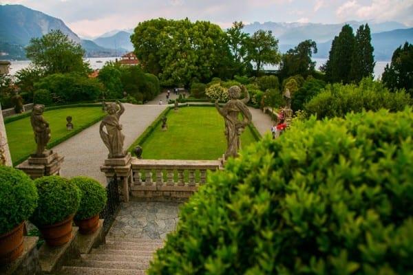 isola bella jardin