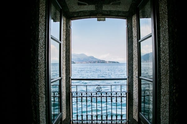 Isola bella vue fenêtre