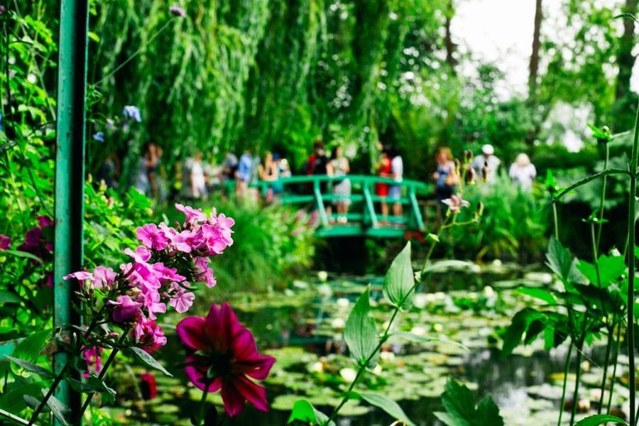 les jardins de Claude Monnet à Giverny