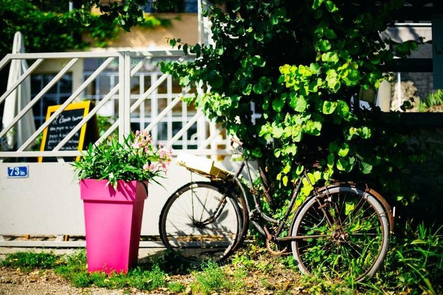 Vélo à Giverny