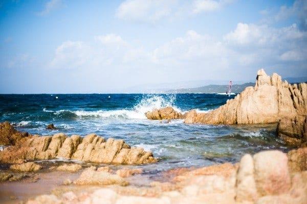 Plage de Tonnara en Corse du Sud
