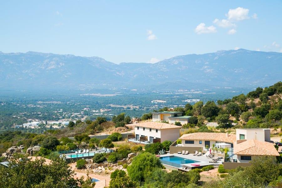 Villas Corse