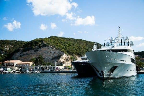 yacht port de plaisance bonifacio