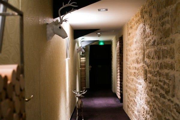 Manoir du Lys couloir chambre
