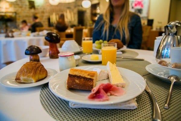 Manoir du Lys petit-déjeuner