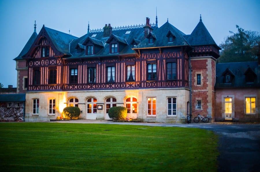 le pavillon de Gouffern en Normandie