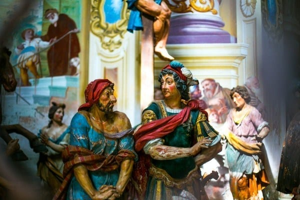Scène de Sacro Monte