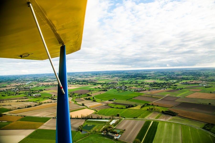 vol paysage aerien mont saint michel