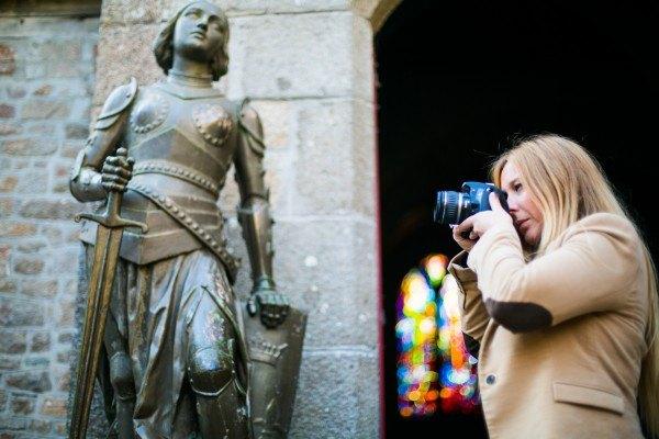 Statue du Mont-Saint-Michel