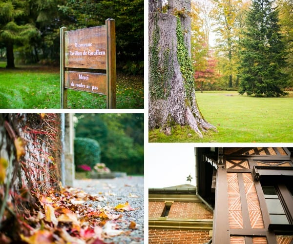 Pavillon de Gouffern à l'automne