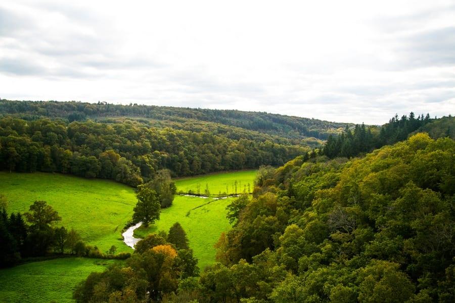 Vue paysage Viaduc Souleuvre