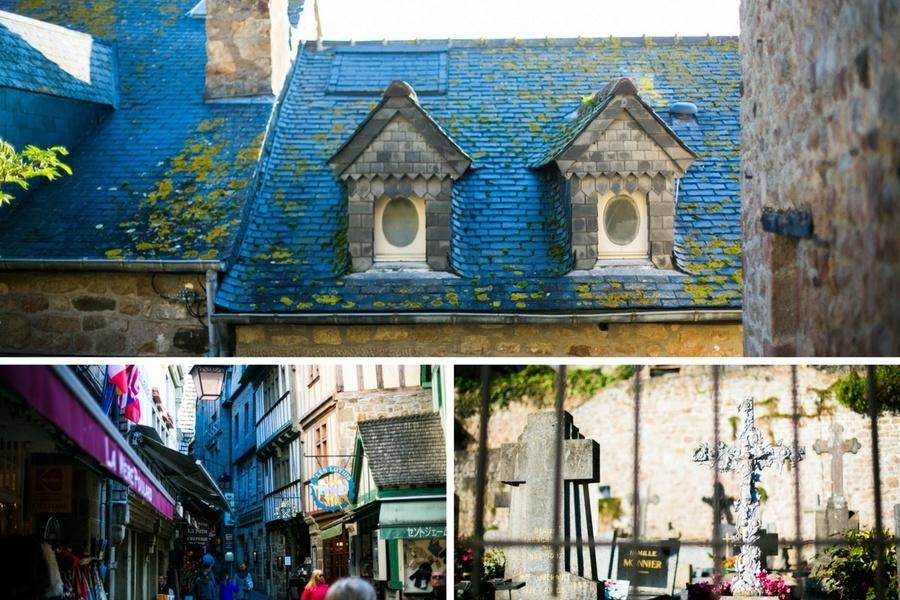 Petits trésors dans les rues du Mont Saint Michel
