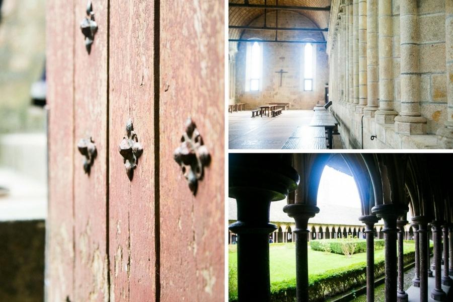 Visite de la salle principale de l'Abbaye