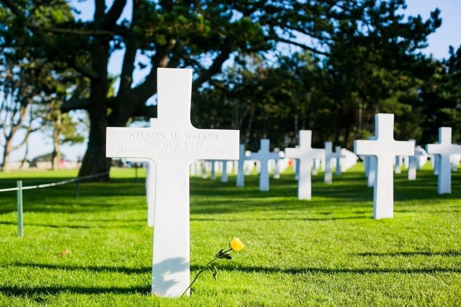 cimetiere americain tombe militaire soldat