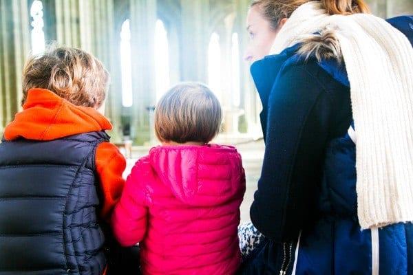 enfant abbaye mont saint michel