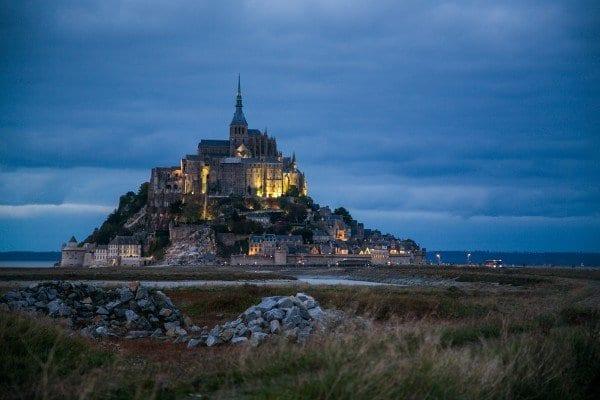 Visiter le Mont Saint Michel de nuit