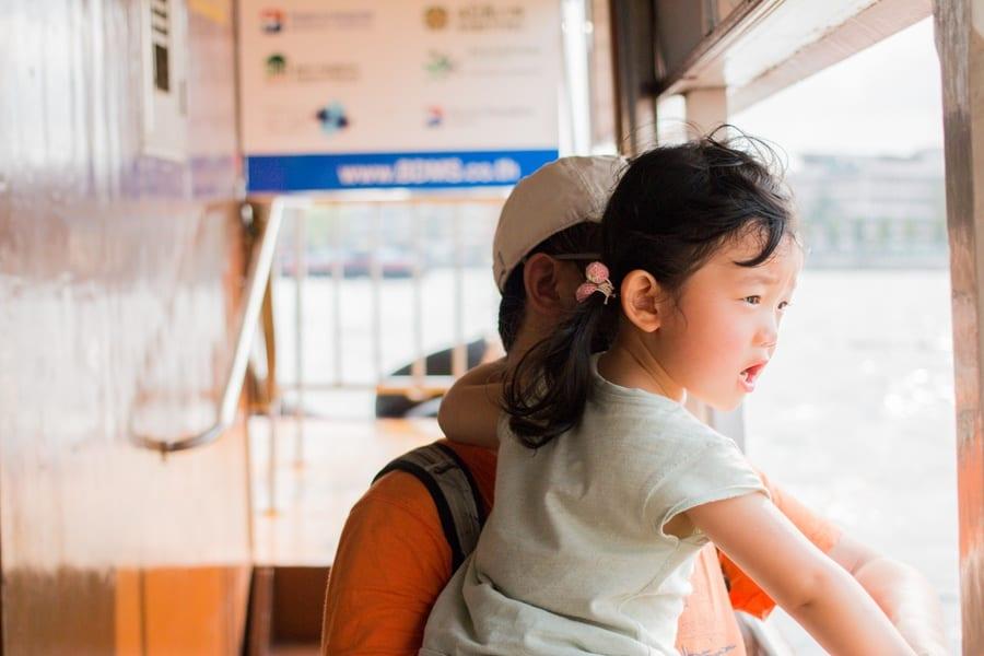 Balade sur le chao Phraya à Bangkok