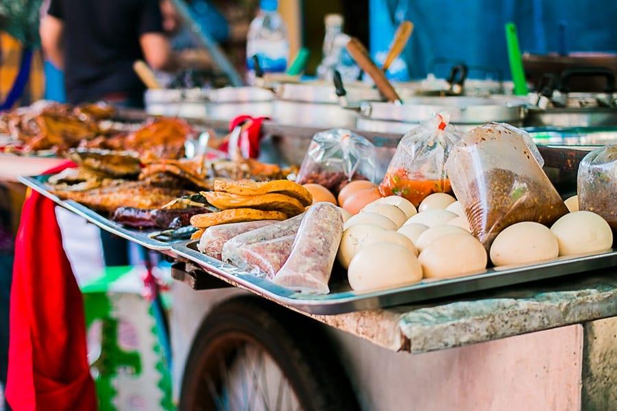 Les restaurants de rue à Bangkok