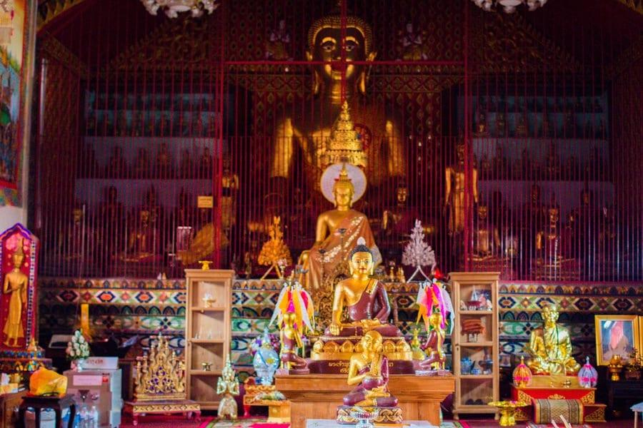 bouddha temple chag mai
