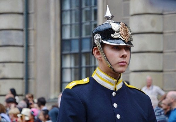 Relève de la garde Stockholm