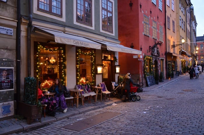 stockholm restaurant
