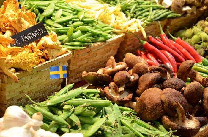marché couvert Östermalm Saluhall