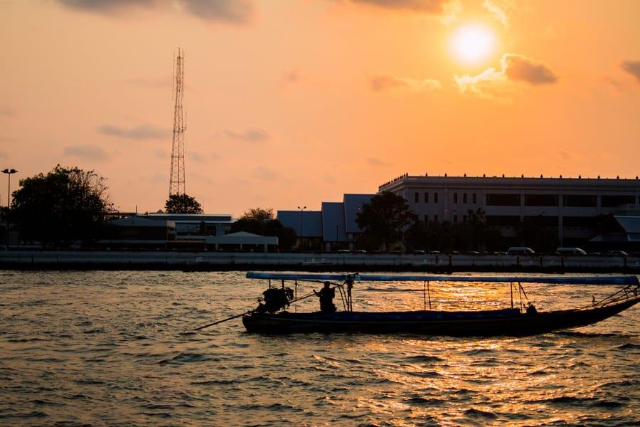 coucher soleil bangkok