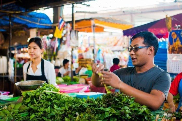 marché cuisine thailandaise