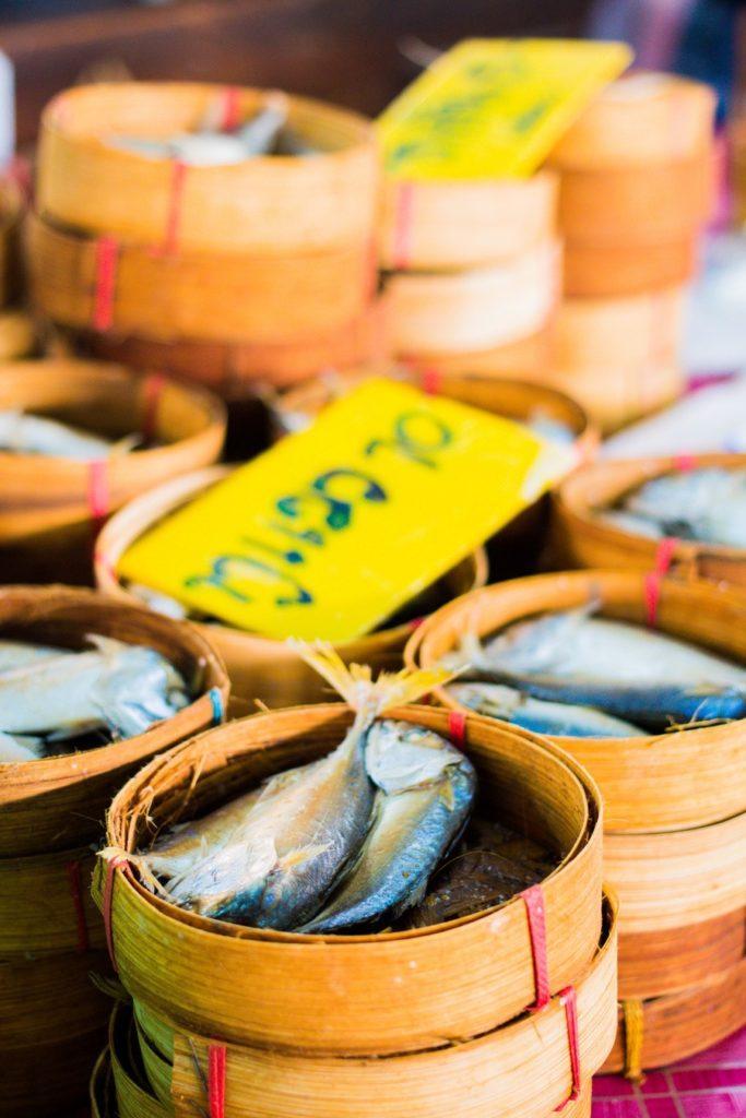 poisson marché thailandais