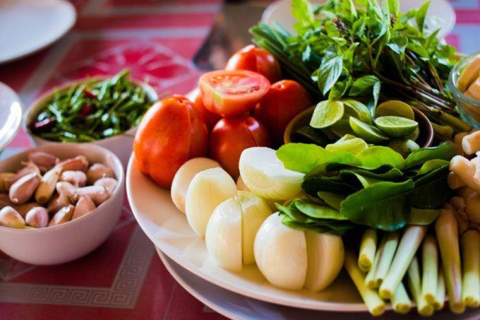 légumes cuisine thailandaise