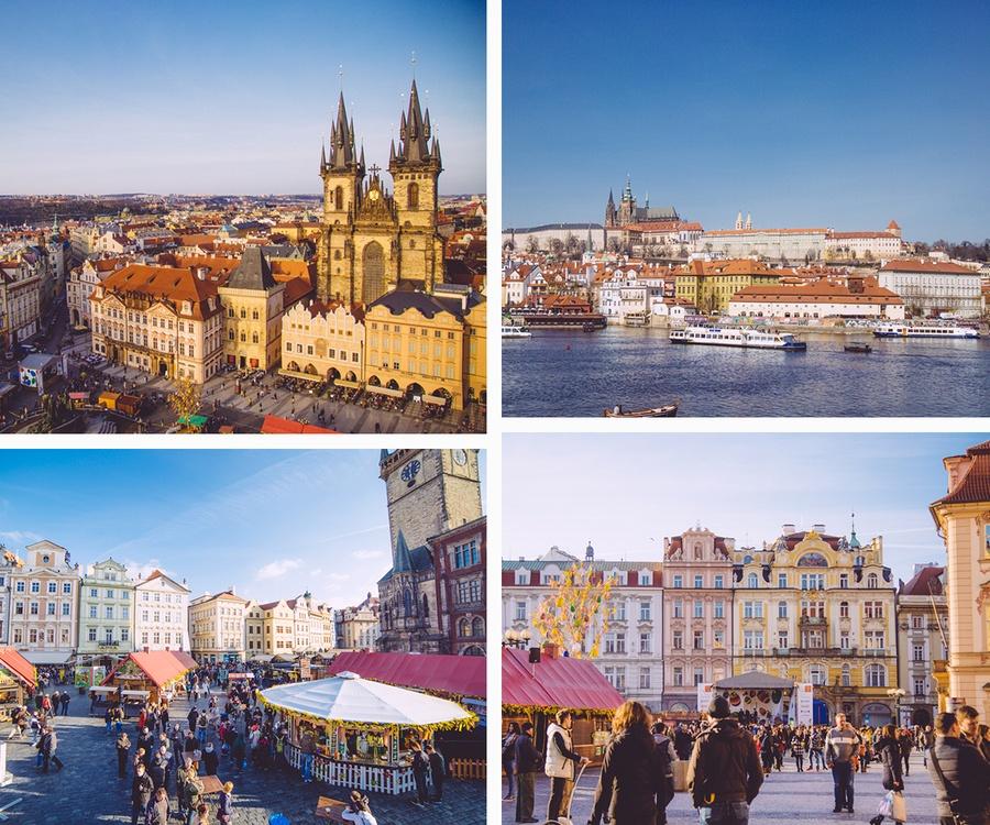 Prague ponts de mai